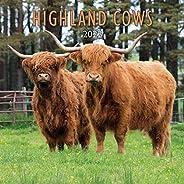 2022 Highland Cows Calendar