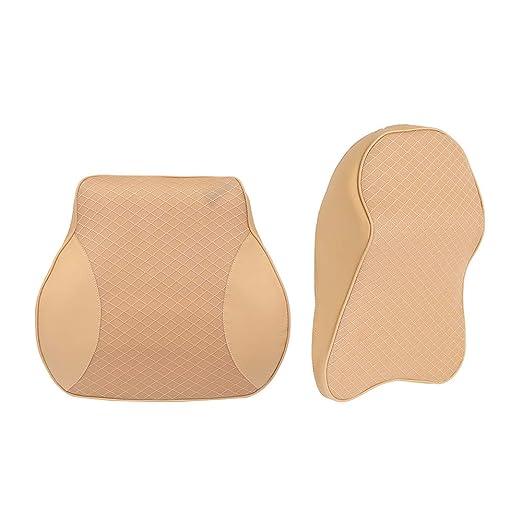 YONGYAO Memory Foam Car Headrest Pillow ATAT Back Cushion ...