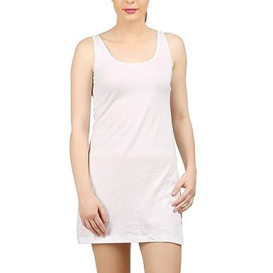 de3ec0e7f222e Design Classics Lighting Women's Cotton Solid Petticoat Slip