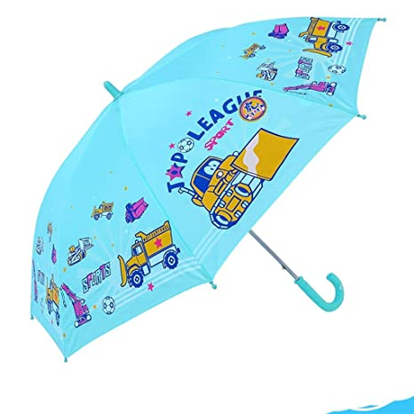 GONGFF Paraguas y niños Plegables Paraguas para niños y ...