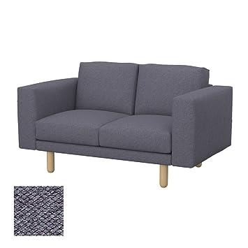Amazon.com: Soferia Replacement Cover for IKEA NORSBORG 2 ...