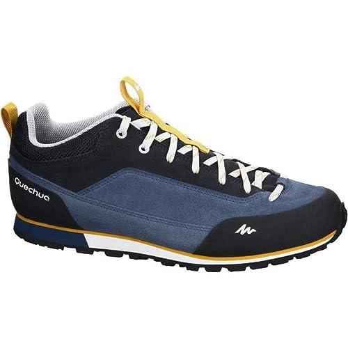 Quechua - Botas de Senderismo de Caucho para Hombre, Color Azul, Talla 43: Amazon.es: Zapatos y complementos