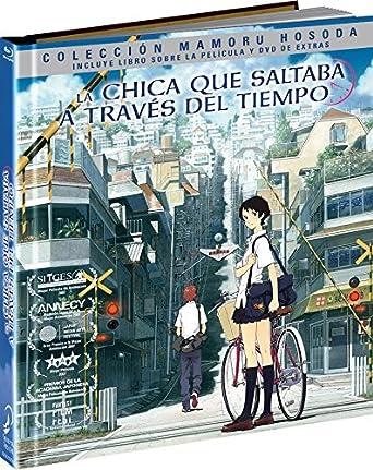 La Chica Que Saltaba A Través Del Tiempo Blu-Ray Digibook Blu-ray: Amazon.es: Animación, Mamoru Hosoda, Animación: Cine y Series TV