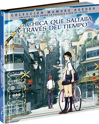 La Chica Que Saltaba A Través Del Tiempo Blu-Ray Digibook Blu-ray ...