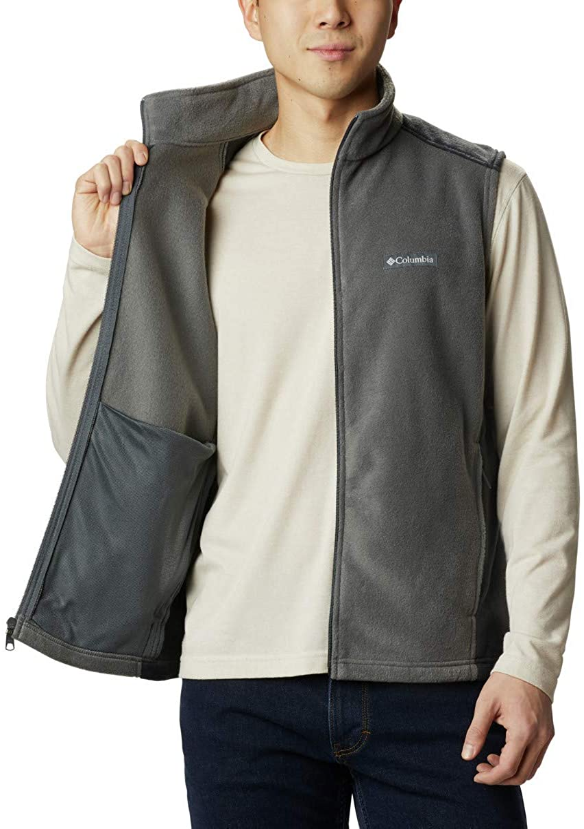Columbia mens Steens Mountain Full Zip Soft Fleece Vest Fleece Vest