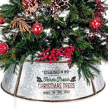 Amazon Com The Christmas Tree Hugger Christmas Tree Skirt