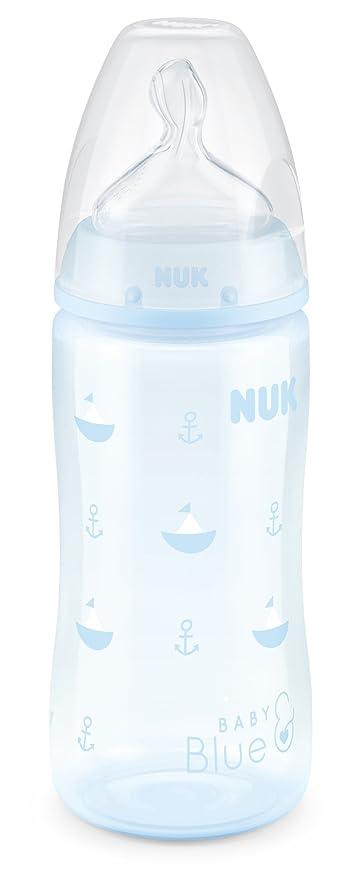 Nuk First Choice 300ml Bottle Silicone Teat 4pk Cream