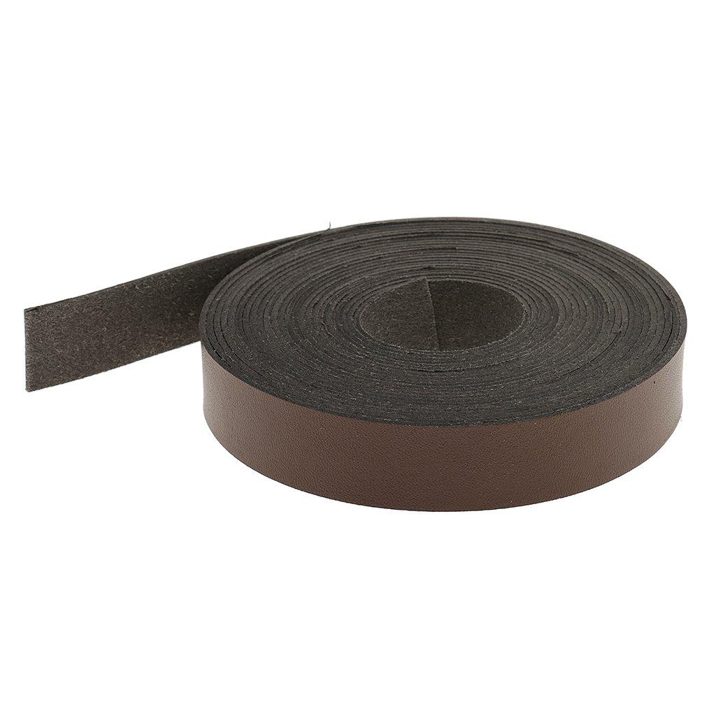 B Baosity Lederband flach 20 mm breite Lederriemen