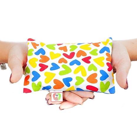 Saco térmico anticólicos para bebés (15x10 cm) Cojín de semillas ...
