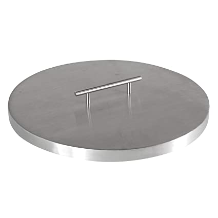 22 x 10 x 4 Stanbroil Stainless Steel Oval Drop-in Fire Pit Table Top Fireplace Pan with Burner Kit