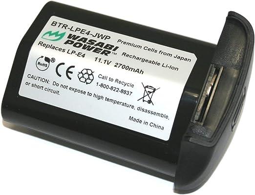 3x Batería Para CANON LP-E4 LPE4 EOS 1D 1Ds MARK III 3 ACCU