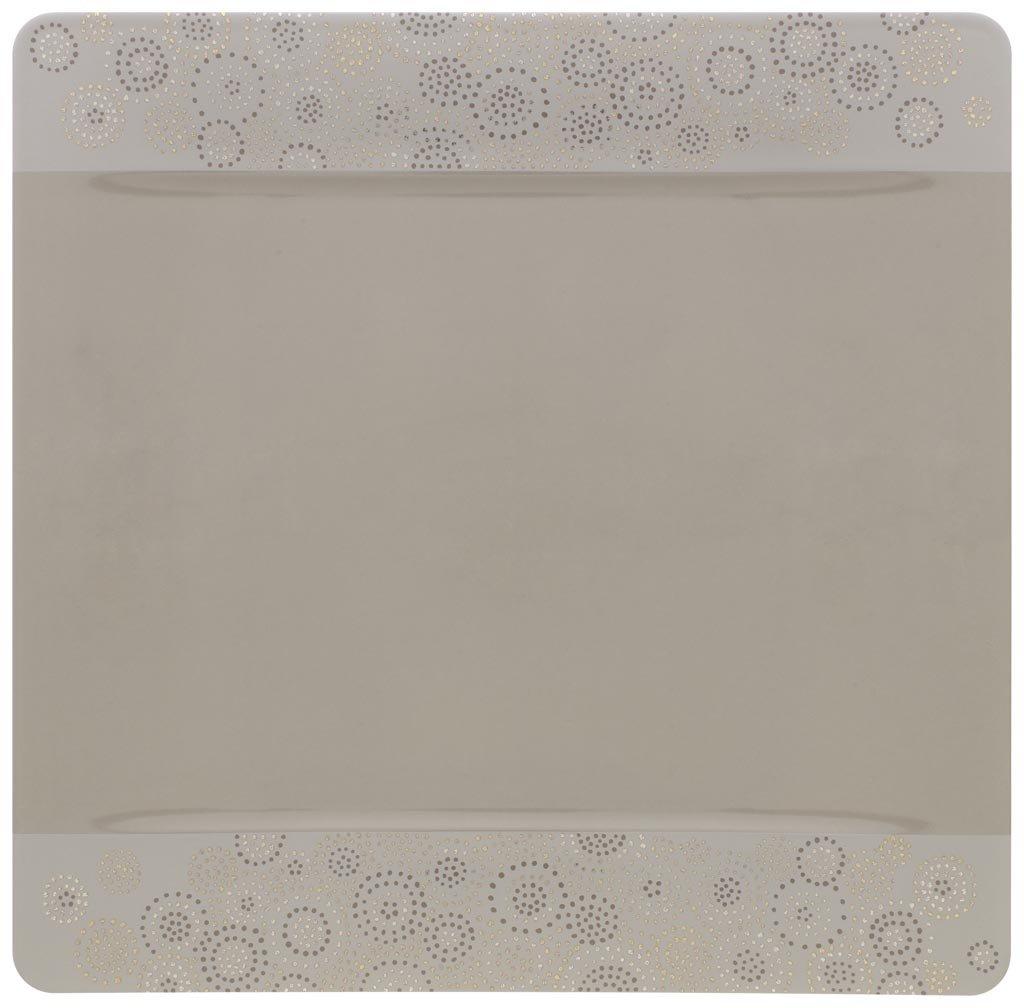Villeroy & Boch Modern Grace Gray Buffet Plate(s) Square
