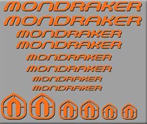 Ecoshirt 13-WRHC-I218 Pegatinas Mondraker Bici R180 Stickers ...