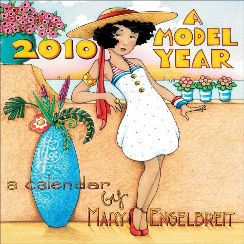 Mary Engelbreit's A Model Year: 2010 Mini Wall Calendar