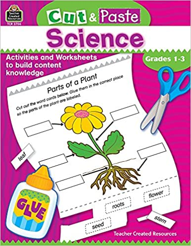 amazon cut paste science grades 1 3 cut and paste jodene