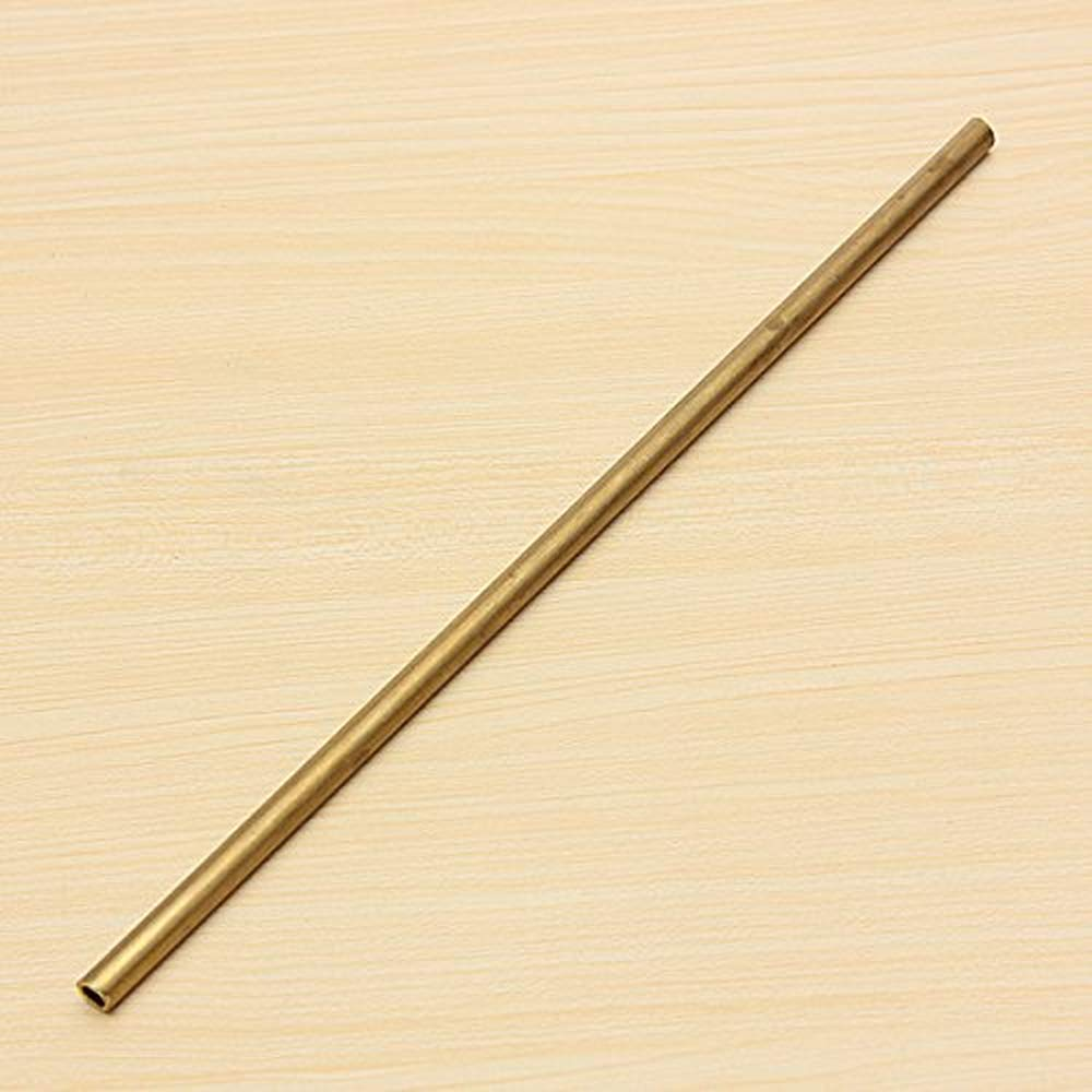 6mm 2-6mm Diameter Round Brass Tubes for Model building Craft 300mm Long Brass Tube