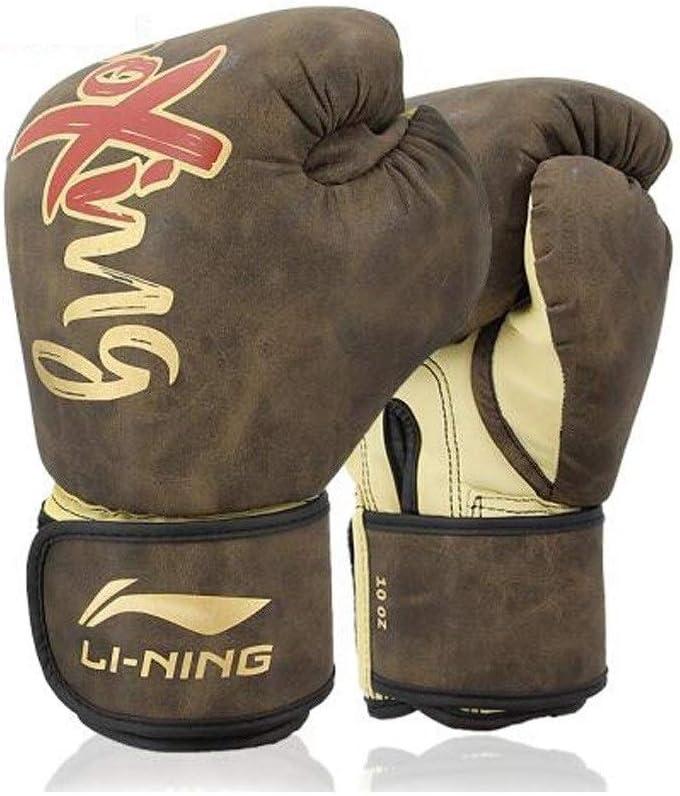 FRDYB ボクシンググローブアダルトサンダファイティングマイクロファイバーレザーライナーラテックスコットンハイフォームプロフェッショナルコンペティションボクシングセットテコンドーサンドバッグ 褐色 10oz
