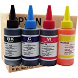 Printer Ink Dye Ink Black/Cyan/Magenta/Yellow Universal Refill Ink Kits Suit for Eposn for Canon for HP for Brother for Lexma