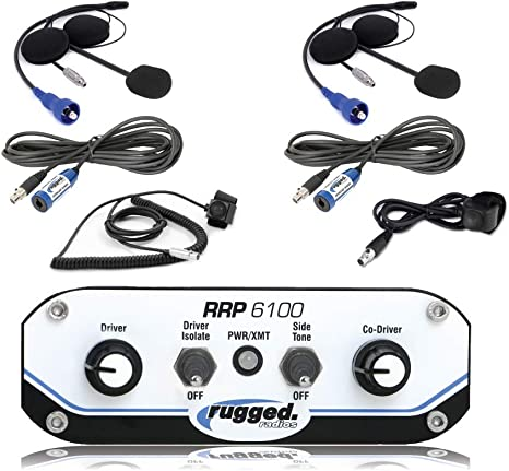 Rugged Radios Inline Audio Filter for in-Car Intercom System to Reduce Noise