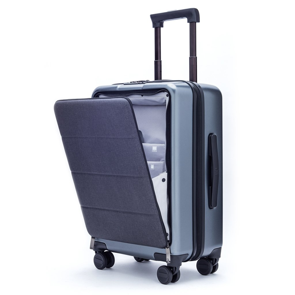 Xiaomi Carry On Luggage 20 Inch Premium PC Front Pocket Spinner Business Trip Double TSA Locks 90FUN