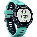 Garmin Pack Forerunner 735XT + Ceinture HRM-Run - Montre GPS Multisports avec Cardio Poignet - Bleue et Vert d'Eau