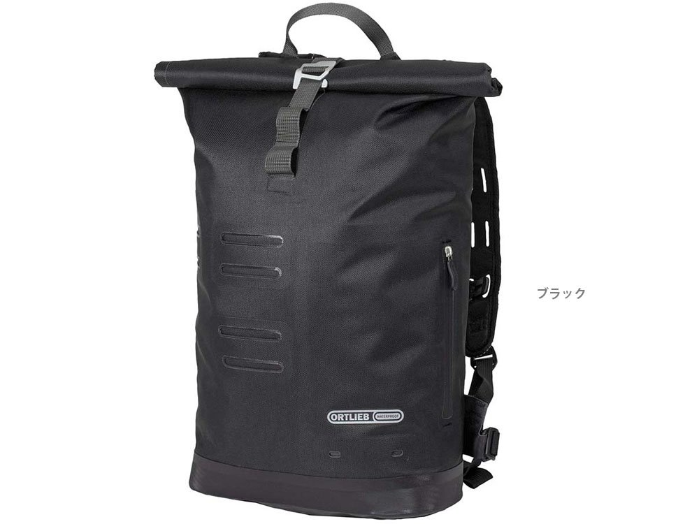 8dff22ba949 Amazon.com: Ortlieb Commuter City Daypack - Black: Sports & Outdoors