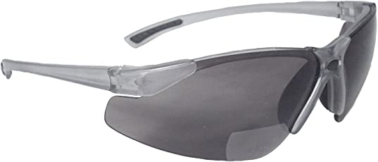 Radians C2-220 Bi-Focal Reading Safety Glasses with Smoke 2.0 Lens