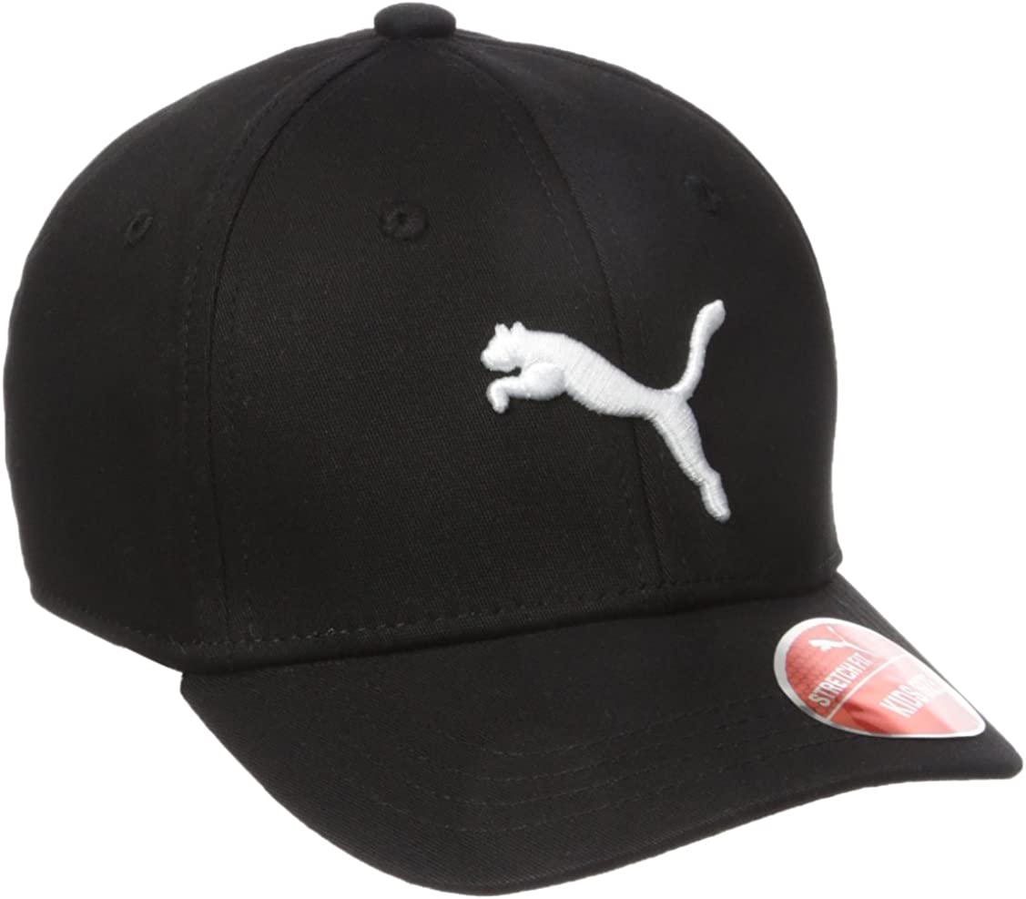 PUMA Girls Kids Evercat Anthem Stretch Fit Baseball Cap Hat