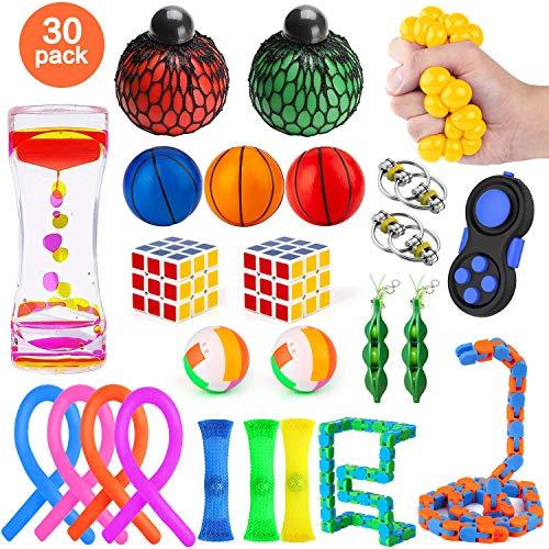 🥇 MIBOTE 30 Pack Fidget Toys Set