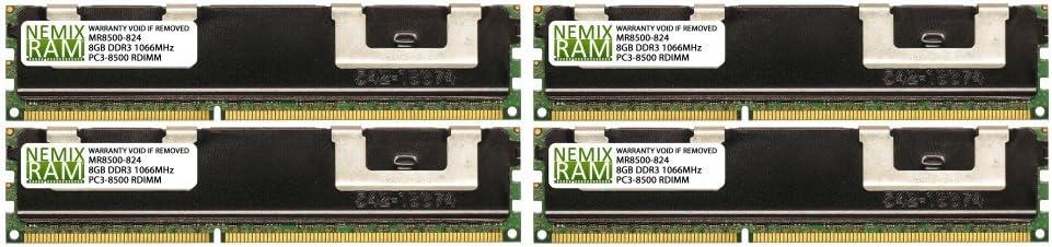 32GB 4X8GB NEMIX RAM Memory for Apple Xserve 2009