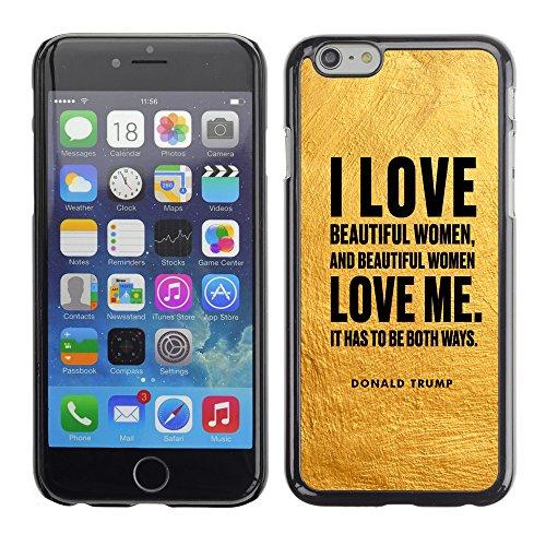"Print Motif Coque de protection Case Cover // Q04040502 Donald Trump artisanat jaune // Apple iPhone 6 6S 6G 4.7"""