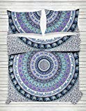 Exclusive Indian Bohemian Mandala Duvet Cover Elephant Mandala Duvet Doona Cover Hippie Bohemian Tapestry Reversible Duvet Cover Hippie Bohemian Full Quilt Cover Set With Pillow By Janki Creation