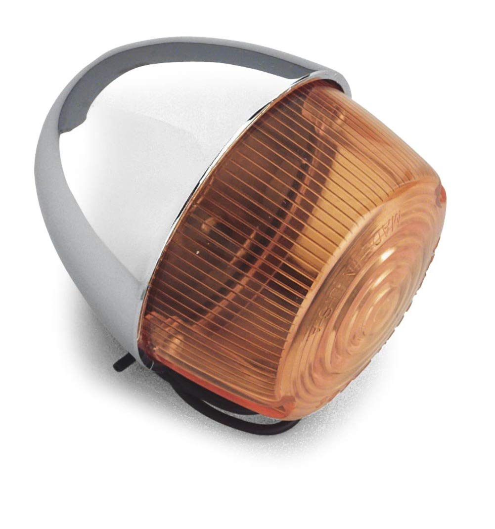 Chris Products DHD1A AMBER Turn Signal Lens Harley Davidson