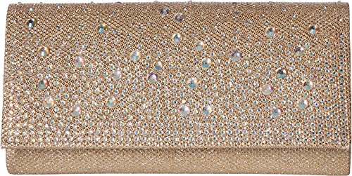 Jessica McClintock Chloe Sparkle Stones Evening Clutch, ()