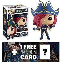 Miss Fortune (GameStop Exclusive): Funko POP! x League of Legends Vinyl Figure + 1 FREE Video Games Themed Trading Card Bundle (118149)