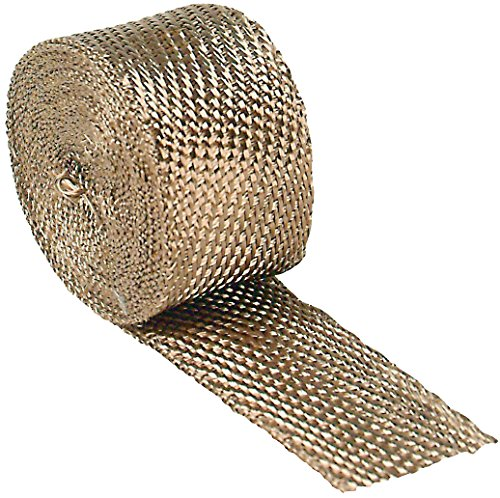 "DEI 010129 Titanium Exhaust Heat Wrap with LR Technology 2"" x 15"