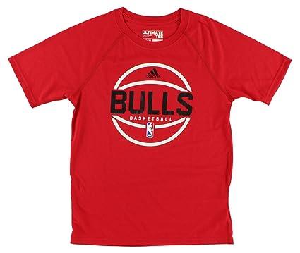 adidas Chicago Bulls Ventilador de Ultimate S/S de la NBA ...