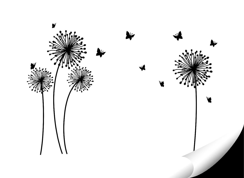 Wandora Wandora Wandora Wandtattoo 4 PusteBlaumen Schmetterlinge I weiß L-Set I Kinderzimmer Flur Wohnzimmer Schlafzimmer Wandsticker Sticker Aufkleber Wandaufkleber W1509 B074K71V51 Wandtattoos & Wandbilder b205c8