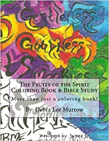 Amazon.com: The Fruits of the Spirit Coloring Book & Bible Study ...