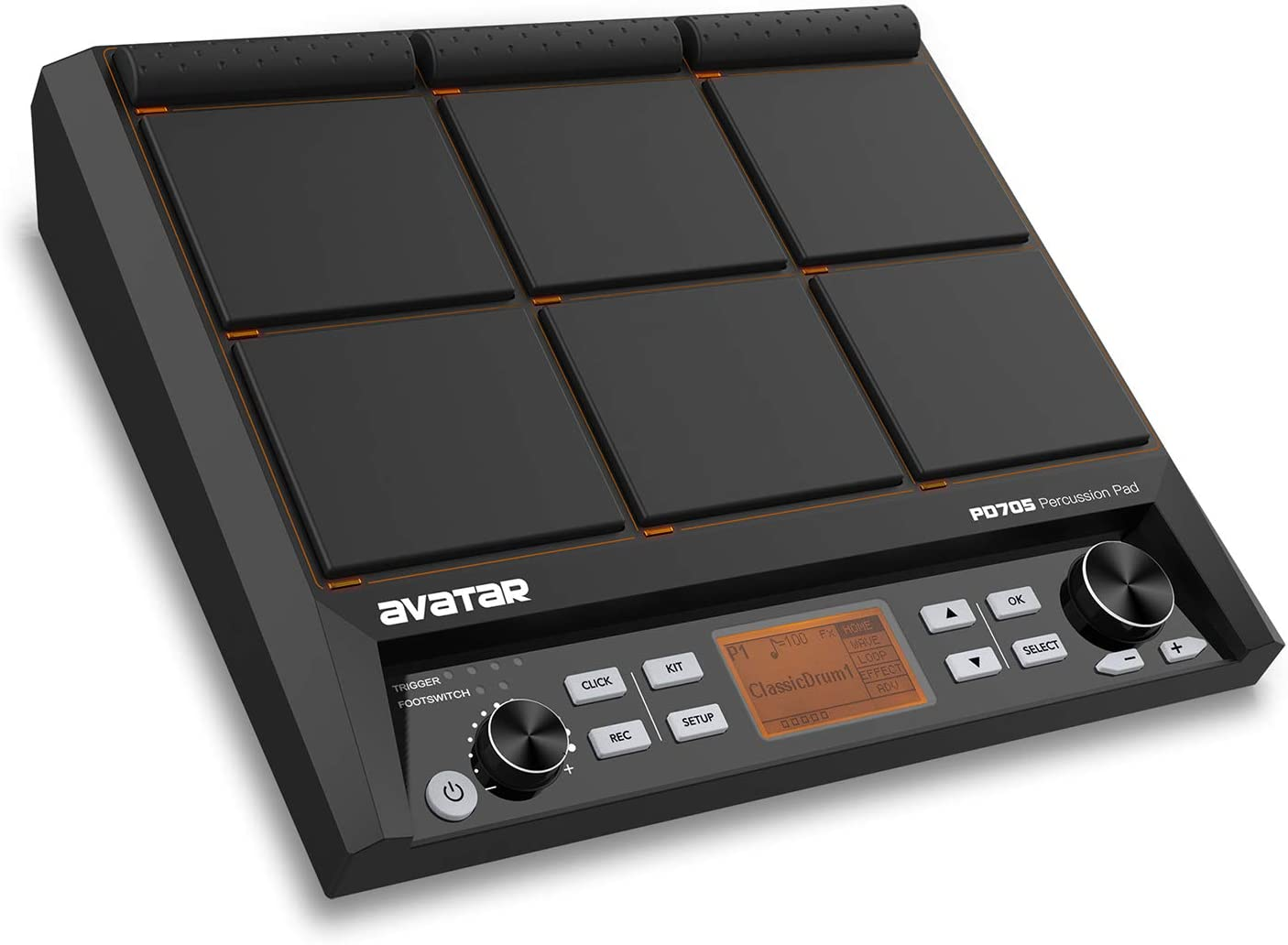 HXW Avatar PD705 Electronic Drum Pad