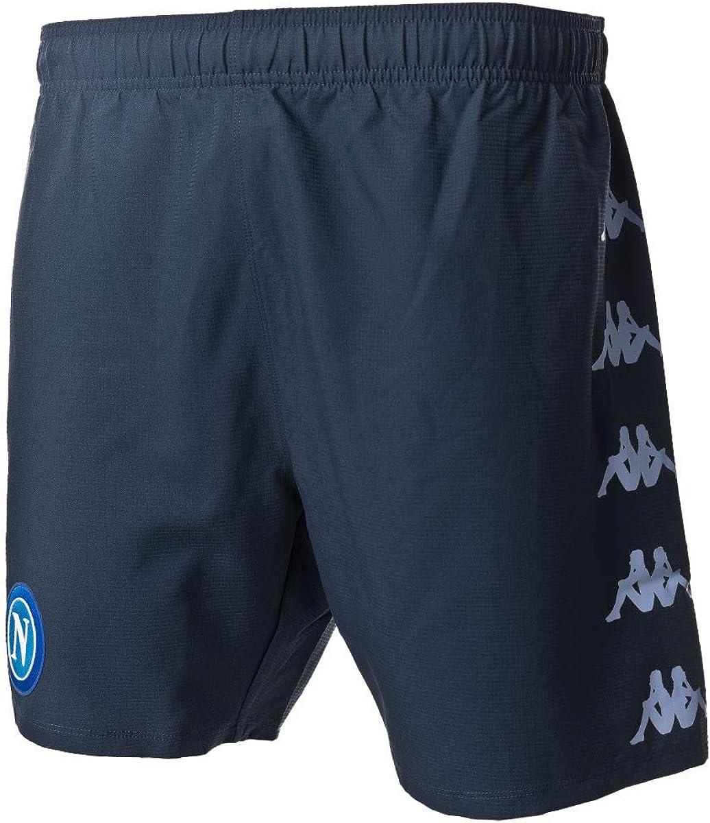 M SSC Napoli Short Gara Third 2020//21 Unisex Erwachsene dunkelblau