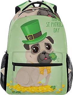 Sac à Dos Backpacks Cute Pug Dog Student Backpack Big for Girls Kids Elementary Sac à Dos Shoulder Bag Bookbag