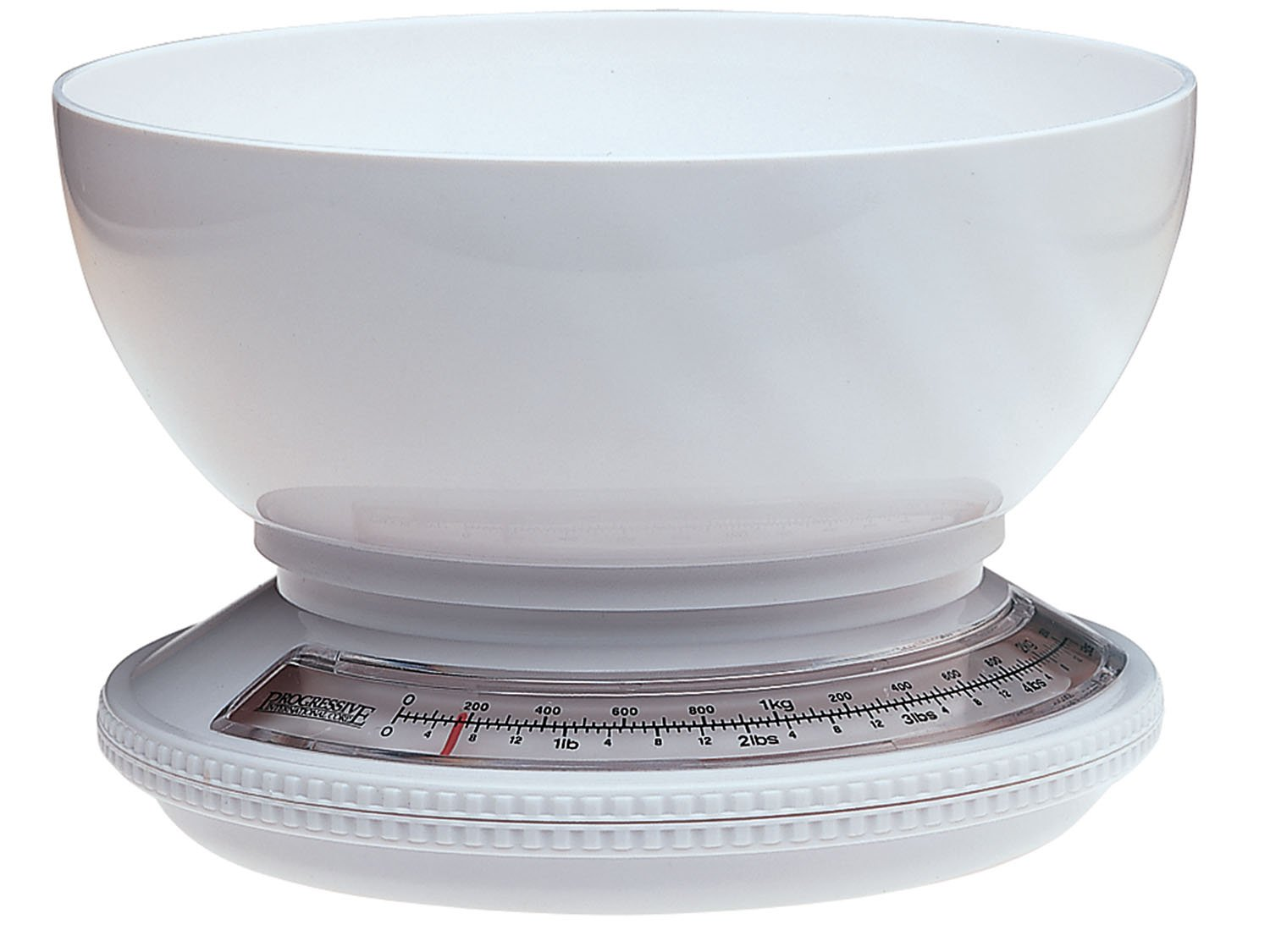 Prepworks by Progressive Kitchen Scale with Removable Bowl -5 Pound Capacity