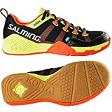Salming Kobra Mens Squash Shoes (10.5, Black/Orange)