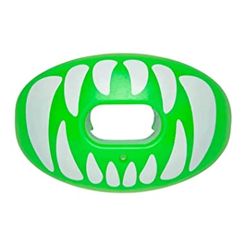 Battle Oxygen Predator Football Mouthguard – Maximum Oxygen Sports Mouth  Guard – Mouthpiece Fits with or Without Braces – Impact Shield Protector  for