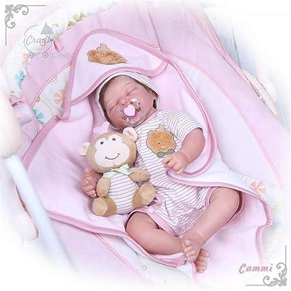 Amazon.com: Zero Pam Binxing Toys Reborn Baby Quinn Vinyl ...