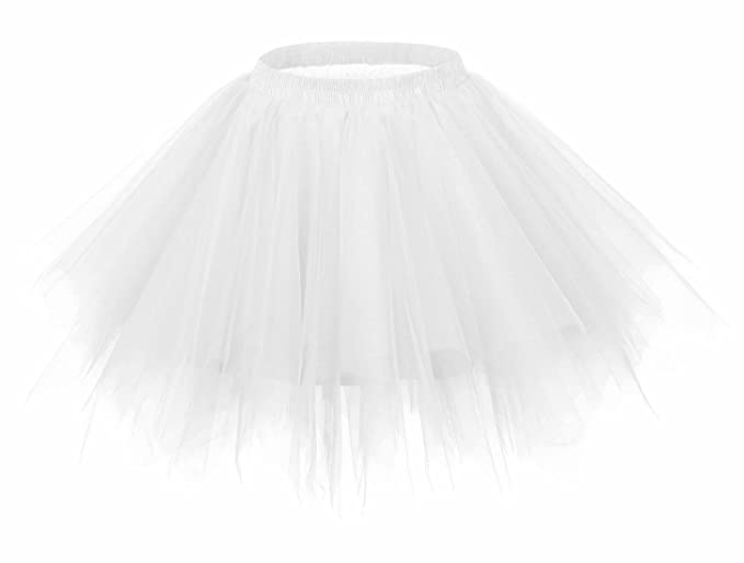 FEOYA Falda Tutu de Ballet para Niñas/Mujeres Skirt Corta Infantil ...