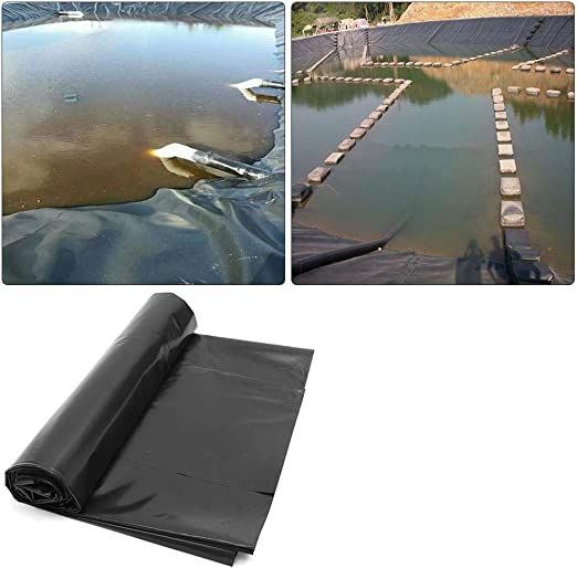 iPenty - Revestimiento de estanque flexible para estanques de peces, resistente al estanque, kit de reparación para