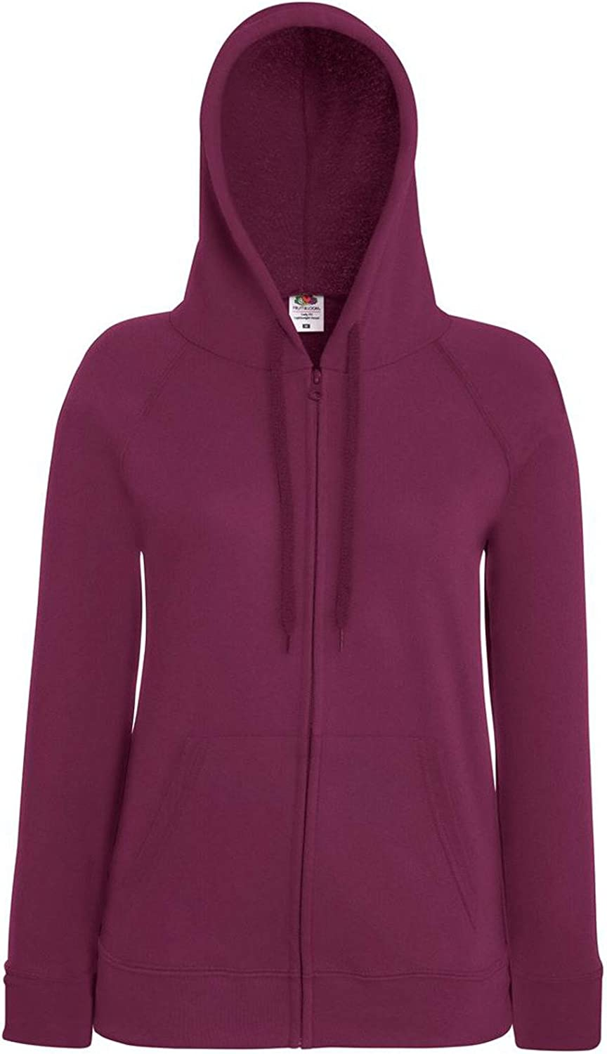 LADY-FIT lightweight HOODED SWEAT JACKETFruit of The Loom