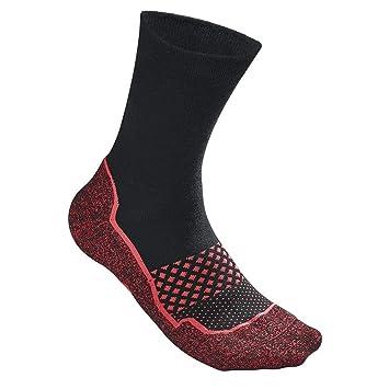 Wilson M Amplifeel 1PR/PK Calcetines de Tenis, Hombre, Negro (Black/Fiery Coral), Talla Única: Amazon.es: Deportes y aire libre